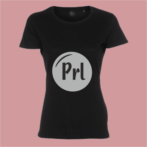 Prl T-shirt shoutout zwart