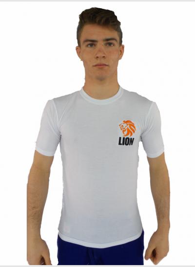 Lion T-shirt Rash guard heren vochtregulerend
