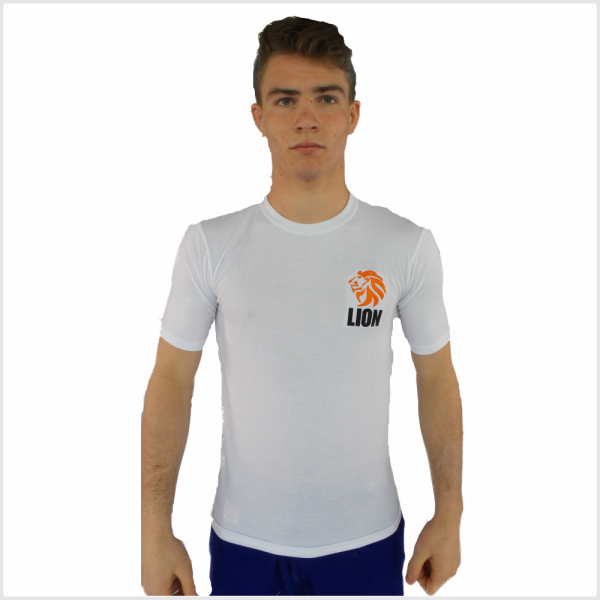 Lion T-shirt Rash guard heren vochtregulerend