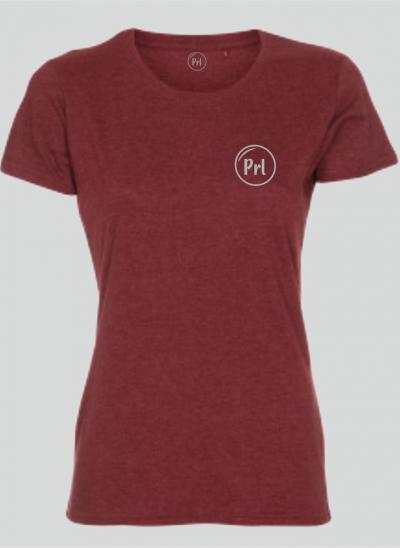Prl T-shirt streetstyle Burgundy