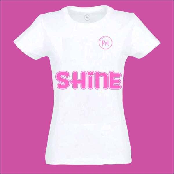 T-shirt Prl Kids girls shine