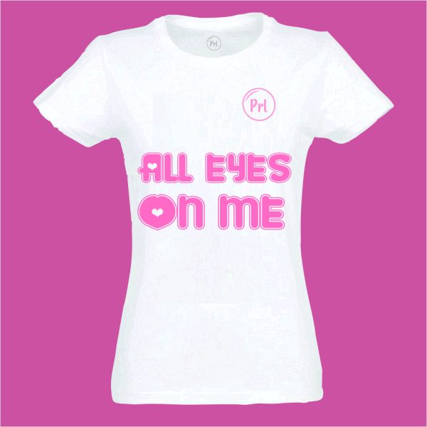 T-shirt Prl Kids all eyes on me