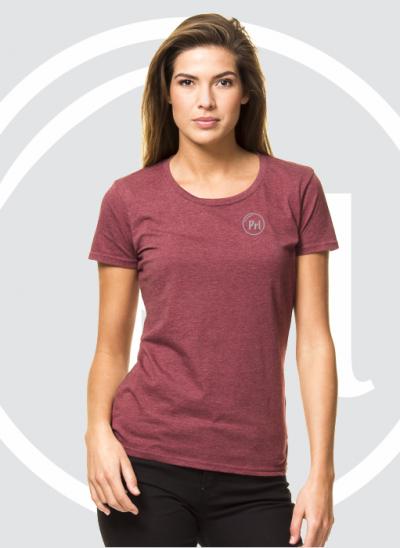 Prl T-shirt burgundy