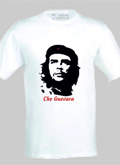 -shirt Che Guevara wit unisex