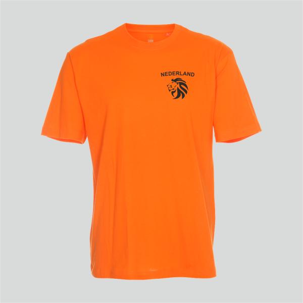 Nieuw T-shirt T-shirt Nederland oranje Nederlands elftal merk Lion regular