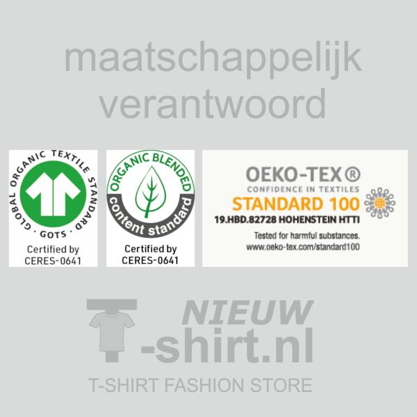 T-shirts van NieuwT-shirt.nl worden verantwoord geproduceerd