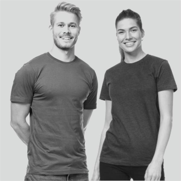 NieuwT-shirt unisex one color fashion