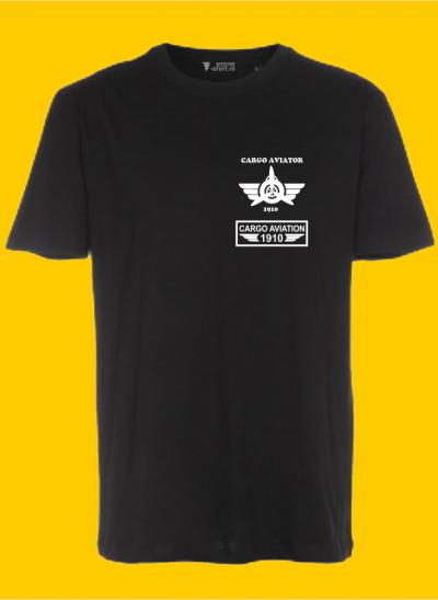 T-shirt cargo aviation company 1910 original zwart