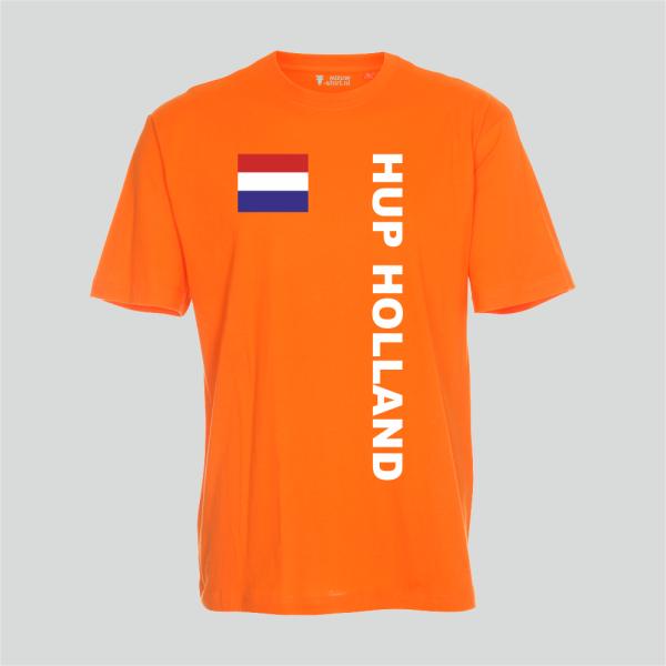 Kinder T-shirt Hup Holland - oranje