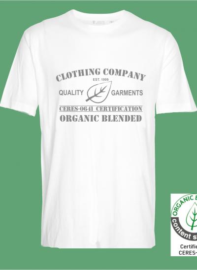 -shirt organic blended clothing company wit regular
